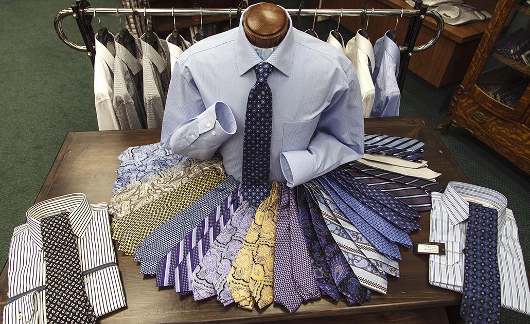 Oshawa's Doug Wilson Menswear sells ties